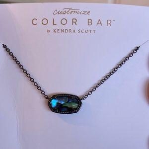 Kendra Scott Elisa Abalone shell necklace.